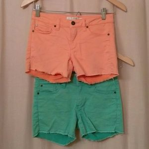 Joe's Girl's Size 12 Shorts (Set of 2)